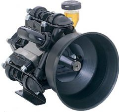 Comet BP125K 3 Diaphragm Pump 6100000200